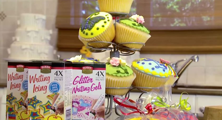 Tutorial: Decorating with Writing Icing - Queen Fine Foods