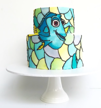 2016-07-27 10_45_28-Finding Dory Cake _ How to make from Creative Cakes by Sharon - YouTube - Micro