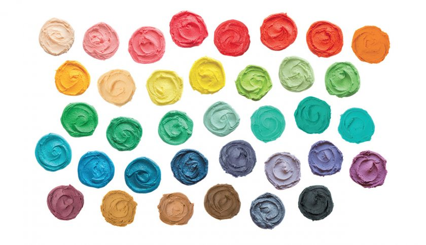 food colour mixing chart