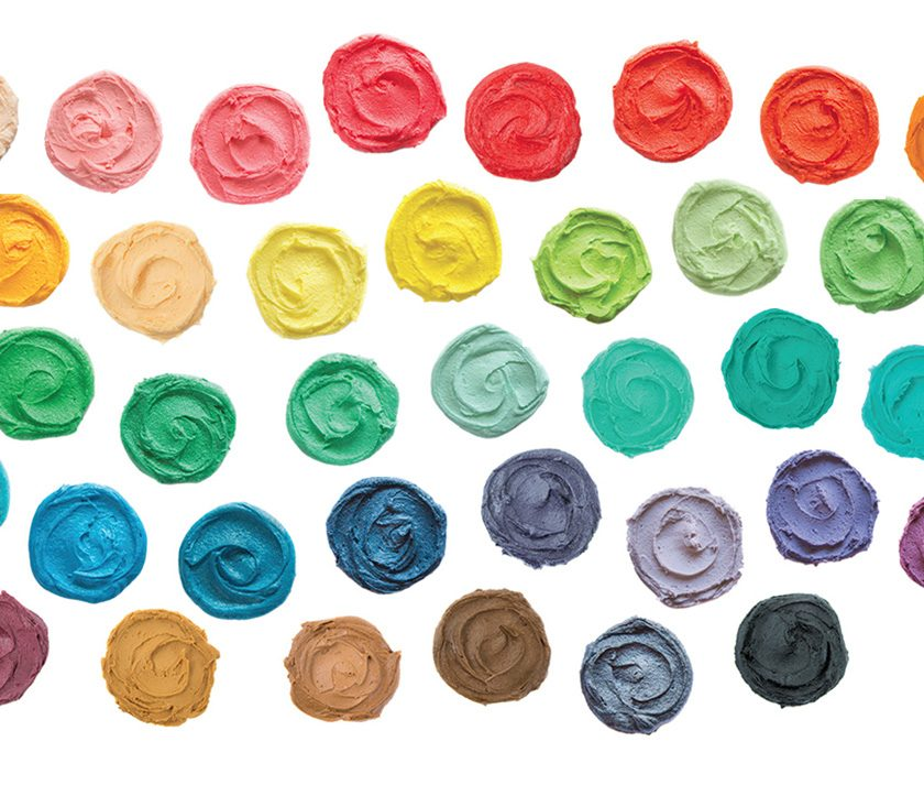 Tutorial: Food Colouring Mixing Chart