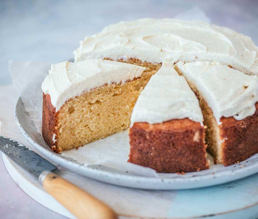 Perfect Vanilla Butter Cake Recipe
