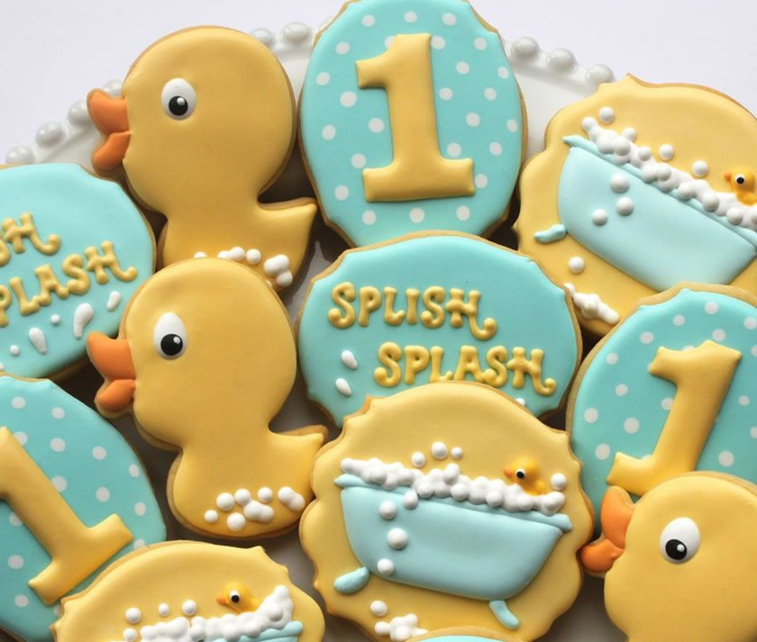 Tutorial: Rubber Duckie Iced Biscuits